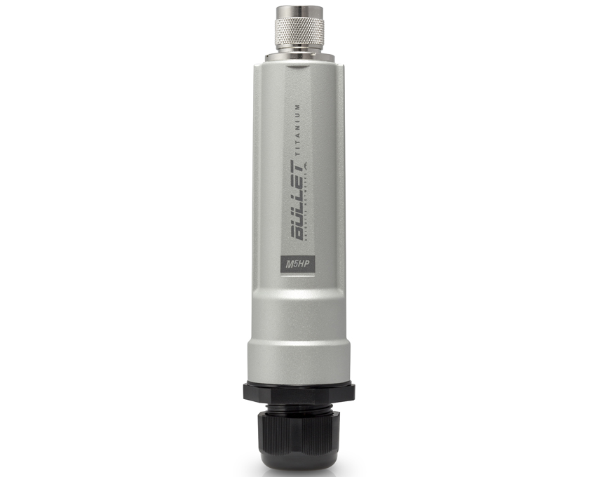 Ubiquiti Bullet M5 Titanium 5GHz Zero-Variable Outdoor Radio