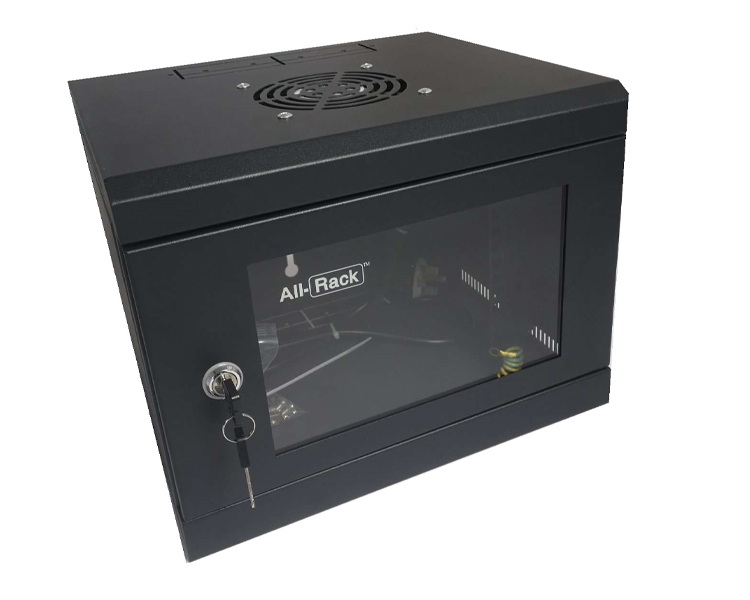Allrack 4U 300mm Deep 10″ Wall Mount Soho Cabinet (CAB4SOHO)