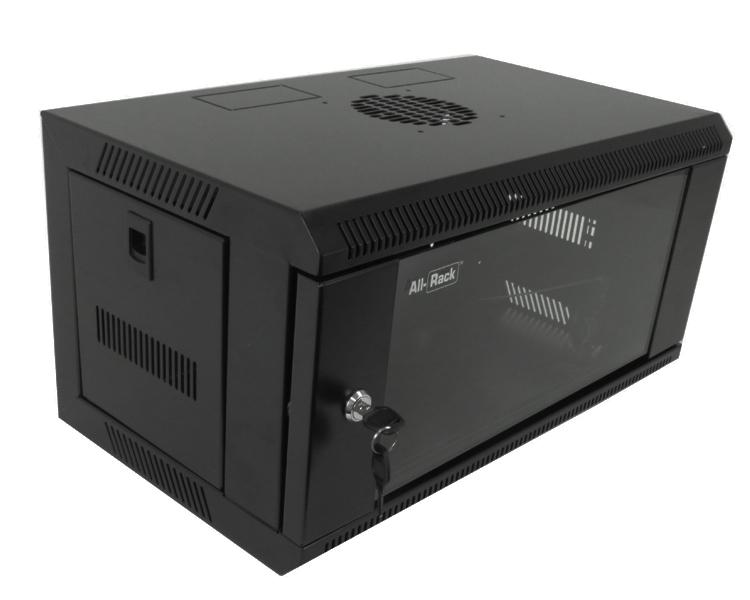 Allrack 6U Wall Mount Cabinet 300mm (CAB6WB300)