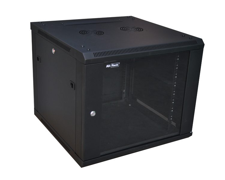 Allrack 9U 450mm Deep Wall Mount Cabinet (CAB9WB450)