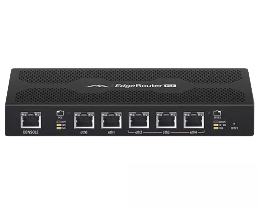 Ubiquiti EdgeMAX EdgeRouter PoE 5-Port Router (ERPoe-5)