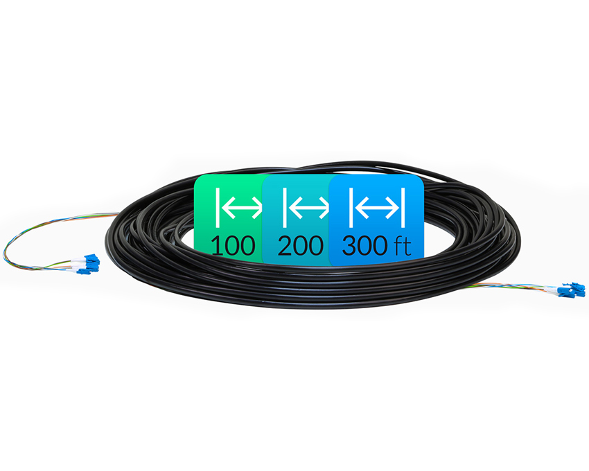 Ubiquiti Single-Mode LC FiberCable 300ft (FC-SM-300)