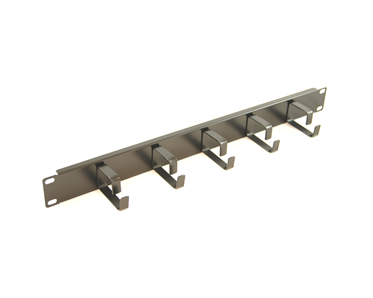 Allrack 1U 5 Ring Cable Tidy or Cable Management Bar (MANBAR1U5R)
