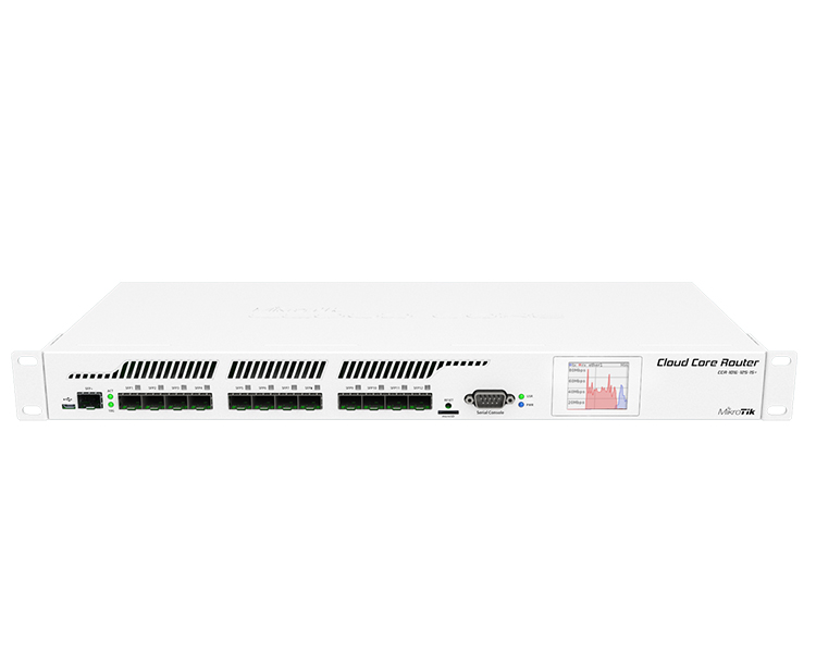 MikroTik RouterBOARD Cloud Core Router CCR1016-12S-1S+