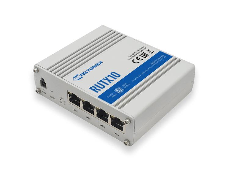 Teltonika RUTX10 Enterprise Router