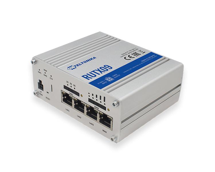 Teltonika RUTX09 LTE Cat6 4G Router