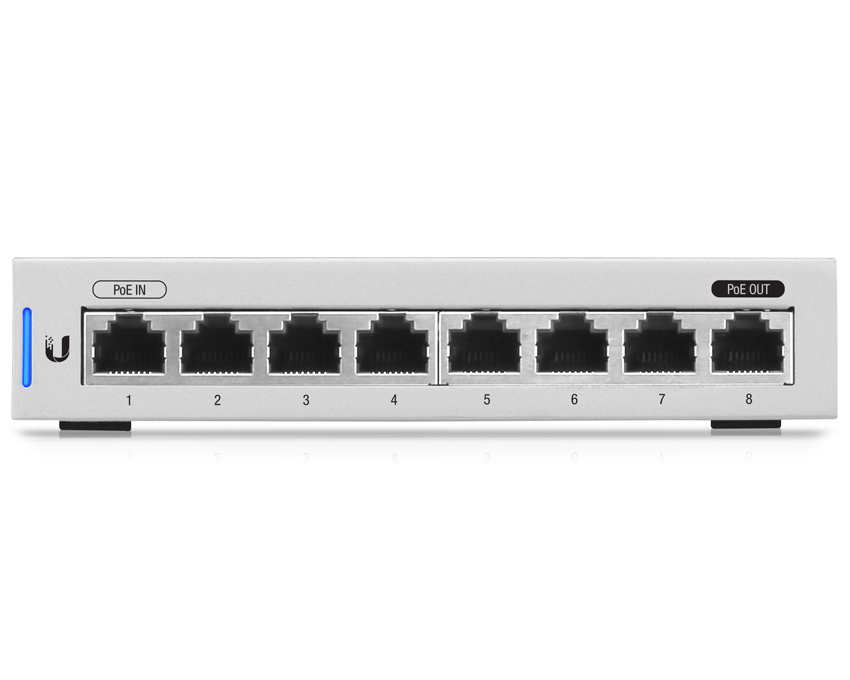 Ubiquiti UniFi Switch 8 Port - US-8 (Non-PoE)