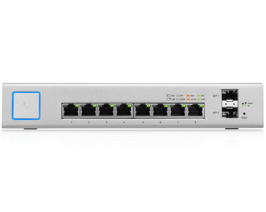 Ubiquiti UniFi Switch 8 150W - US-8-150W