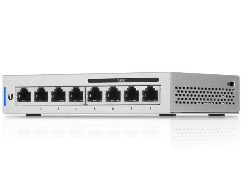 Ubiquiti UniFi Switch 8 Port - US-8-60W