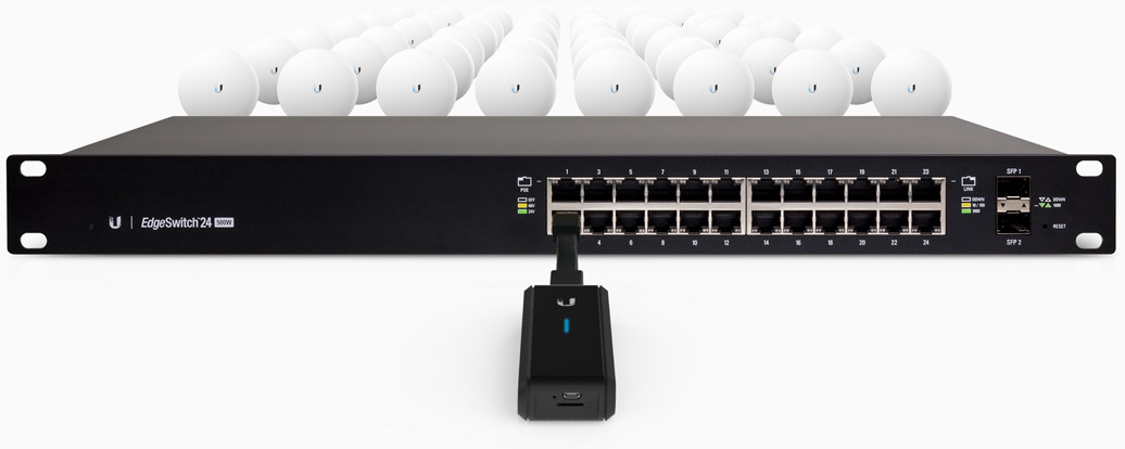 Plug and Play installation with Any Switch or Router