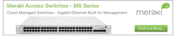 Meraki MS Access Switches