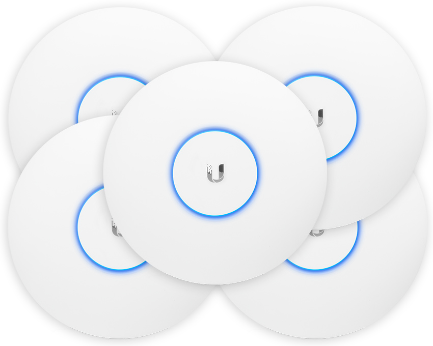 Ubiquiti UniFi AP AC Pro Indoor / Outdoor Access Point 5 Pack