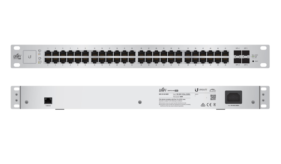 Ubiquiti UniFi Switch 48 500W - US-48-500W