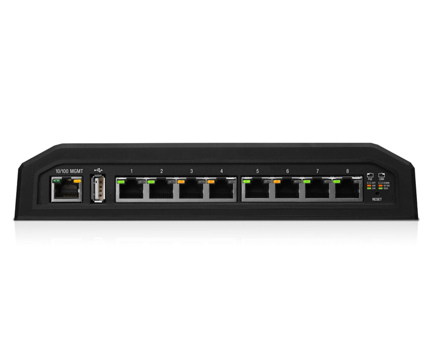 Ubiquiti EdgeSwitch 8 XP - 8-Port Gigabit PoE Switch (ES-8XP)