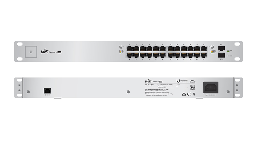 Ubiquiti UniFi Switch 24 250W - US-24-250W