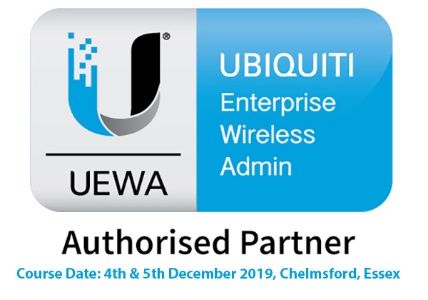Ubiquiti Enterprise Wireless Admin UEWA UniFi Training Course - 4th - 5th December 2019