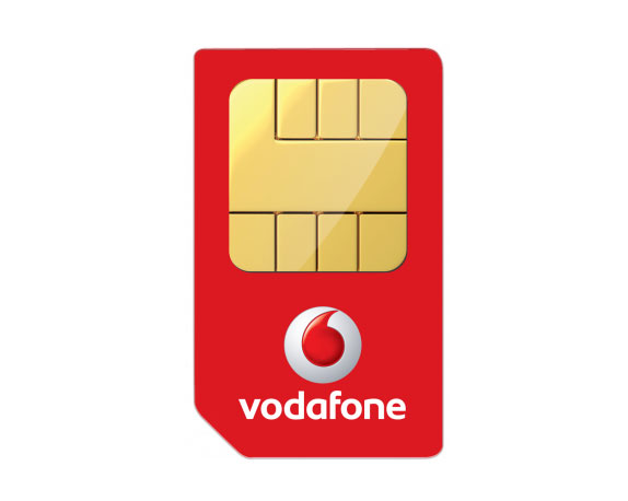 Vodafone Blank 4G SIM Card (24 Month Contract)