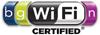 Wi-Fi Certified 802.11g, n