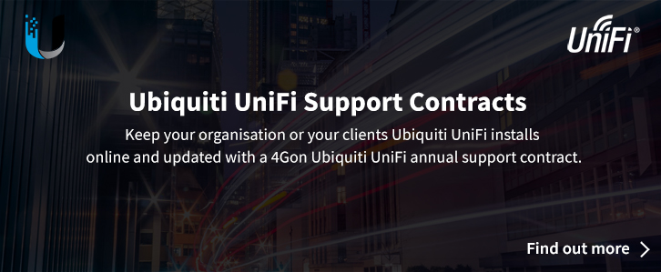 4Gon UniFi Annual Support Contract