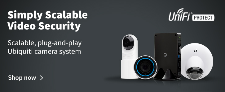 Ubiquiti UniFi Protect - Video Surveillance