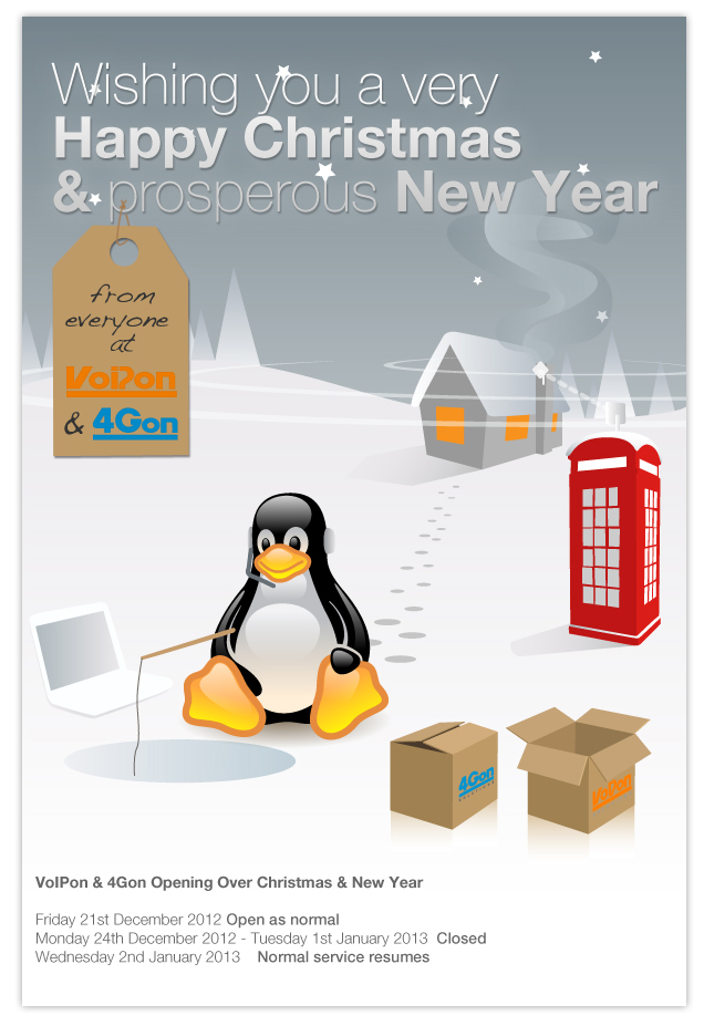 Wishing you a very Happy Christmas & Prosperous New Year from 4Gon Solutions