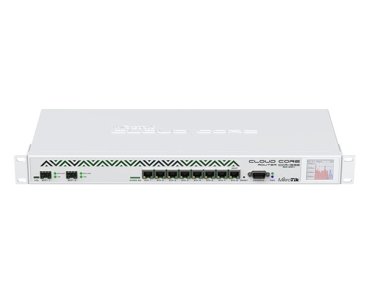 MikroTik RouterBOARD Cloud Core Router CCR1036-8G-2S+