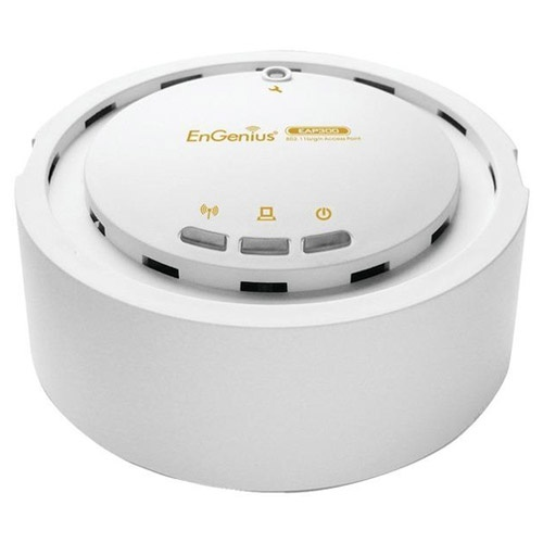 EnGenius EAP300 Ceiling Mounted Long Range Wireless-N PoE Access Point (300Mbps)