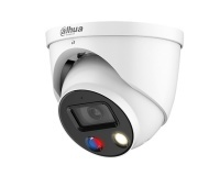 Dahua Technology 5MP Full-colour Active Deterrence Fixed-focal Turret WizSense Dome Camera (IPC-HDW3549HP-AS-PV)