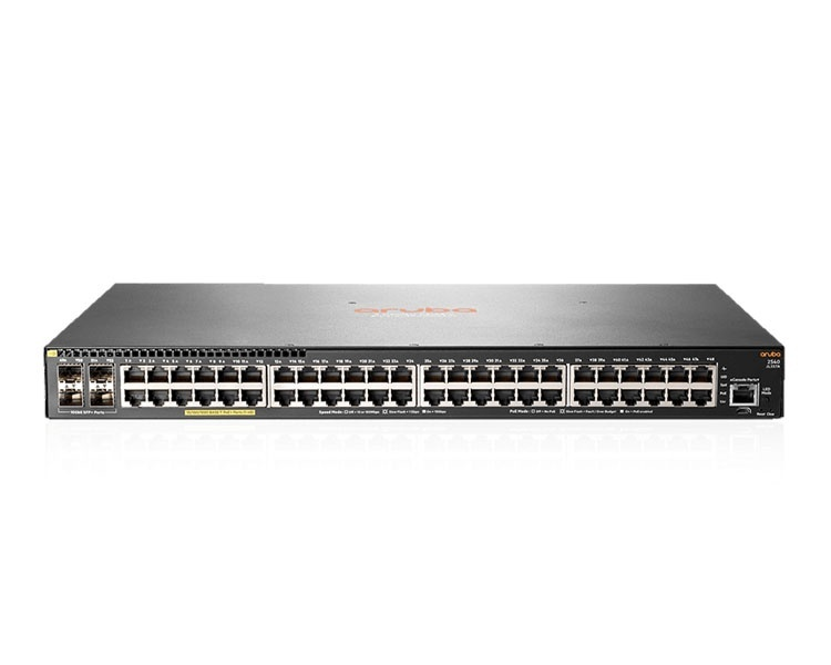 HP Aruba 2540 48G PoE+ 4SFP+ Switch (JL357A)