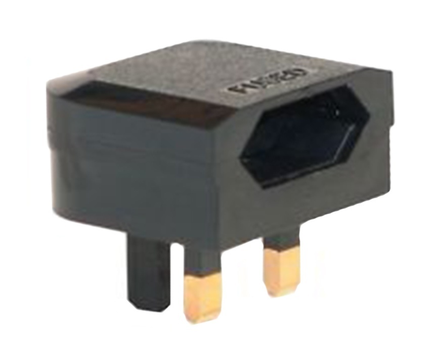 EU to UK plug adaptor (PL0203507)