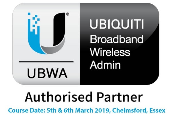 Ubiquiti Broadband Wireless Admin UBWA AirMax Training Course - 5th - 6th March