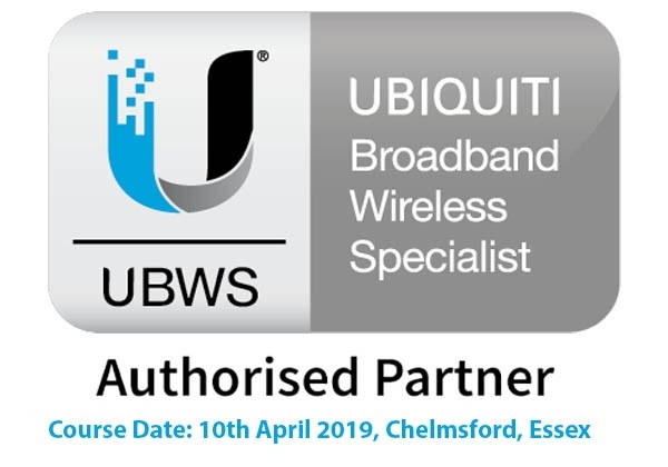 Ubiquiti BroadBand Wireless Specialist UBWS Training Course 10th April