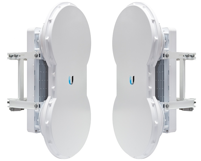 Ubiquiti airFiber 5U 5.9GHz and 6GHz, 1Gbps+, FDD, 100Km+ Point to Point Radio - Complete Link