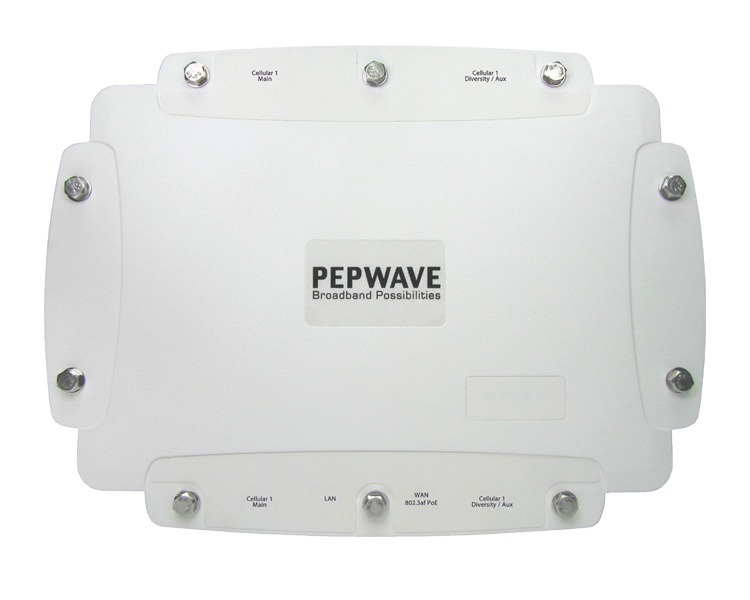 Peplink Pepwave HD2 IP67 Dual 4G LTE Outdoor Mobile Router (MAX-HD2-M-LTEA-W-IP67-G)