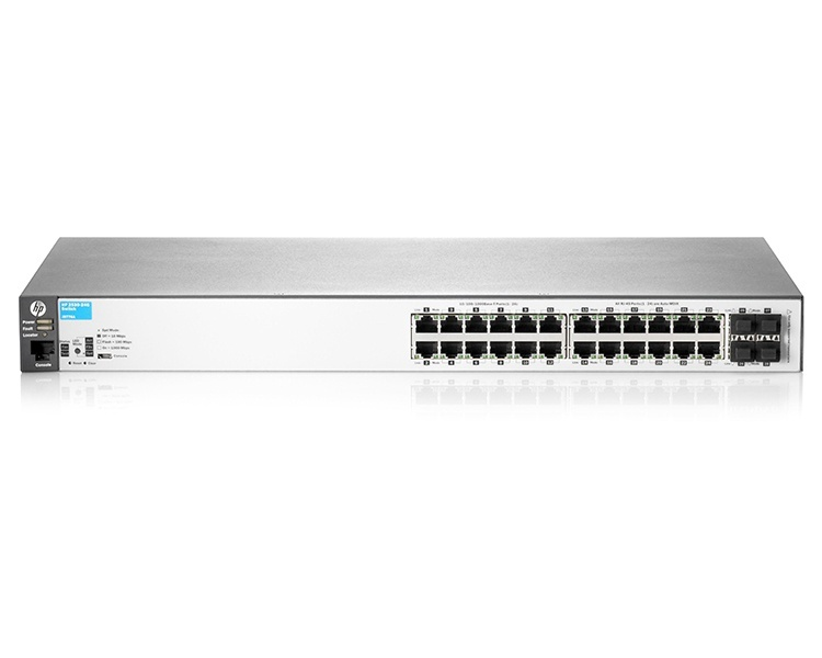 HP Aruba 2530 24 Port Gigabit PoE+ Switch (J9773A)