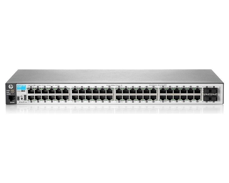 HP Aruba 2530 48 Port Gigabit PoE+ Switch (J9772A)