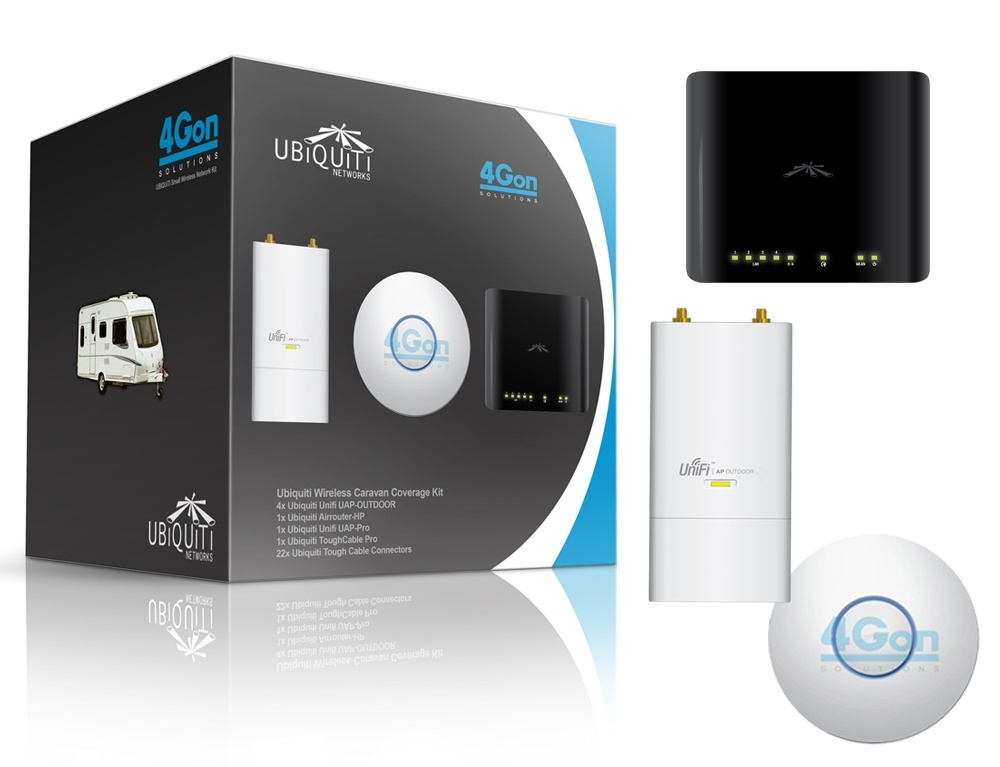 Ubiquiti Wireless Caravan Coverage Kit