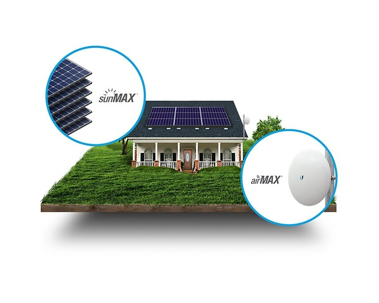 Ubiquiti sunMAX Residential Solar Solution