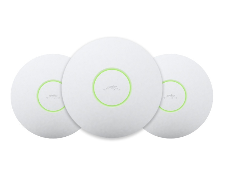 Ubiquiti UniFi UAP Indoor Scalable WiFi Access Point - 3 Pack