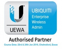 Ubiquiti Enterprise Wireless Admin Training Course UEWA - UniFi, 23rd-24th January 2019