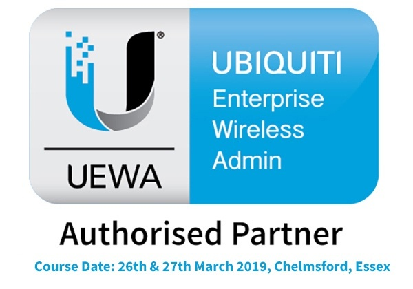 Ubiquiti Enterprise Wireless Admin UEWA UniFi Training Course - 26th - 27th March 2019