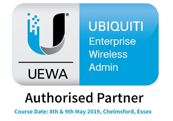 Ubiquiti Enterprise Wireless Admin UEWA UniFi Training Course - 8th - 9th May 2019